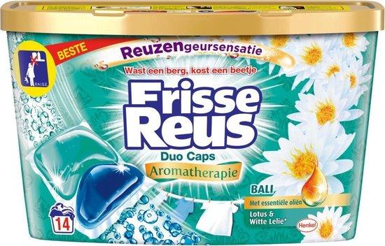 3x Witte Reus Duo-Caps Bali Wasmiddel Capsules 14 stuks