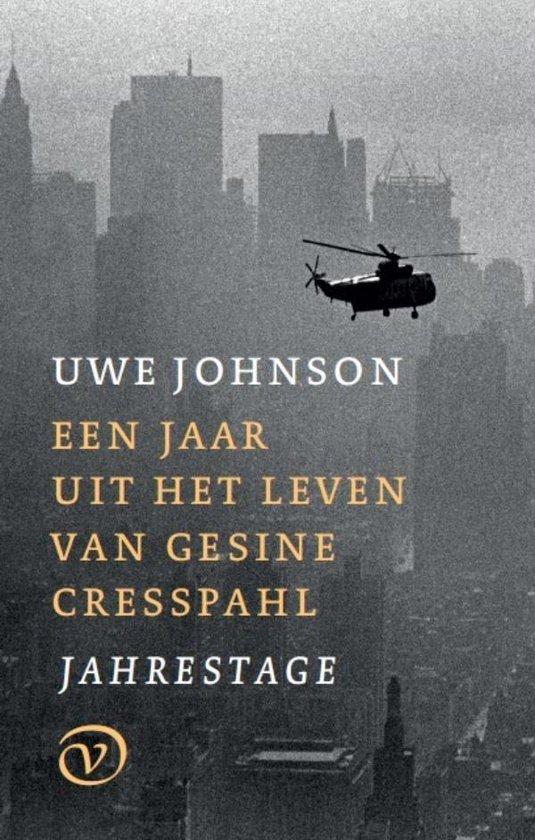 Boek cover Een jaar uit het leven van Gesine Cresspahl van Uwe Johnson (Onbekend)