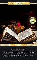 Boek cover 50 Masterpieces you have to read before you die Vol: 1 (2021 Edition) van Dante Alighieri