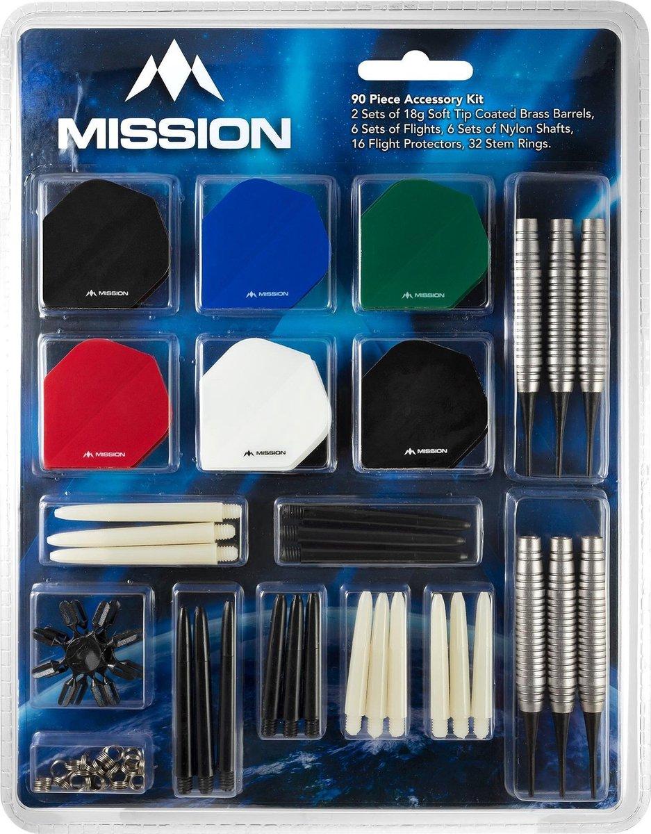 Mission Soft tip Accessoires kit - 24 Gram