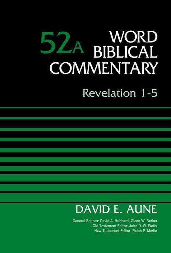 Boek cover Revelation 1-5, Volume 52A van Dr. David Aune (Onbekend)