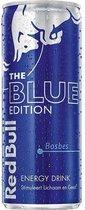 Red Bull Energy Drink Blue edition Blikjes 25cl Tray 12 Stuks