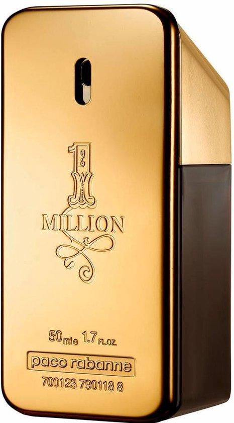 Paco Rabanne 1 Million 100 ml - Eau de Toilette - Herenparfum