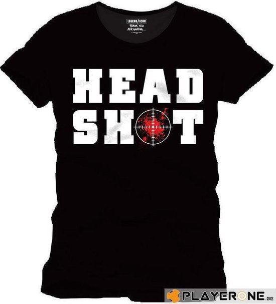 FOR GAMING - T-Shirt HEAD SHOT - (XXL)
