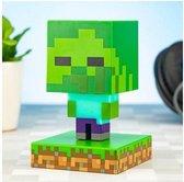 Paladone Minecraft Nachtlamp - Zombie - Icon Light - 3D Lamp
