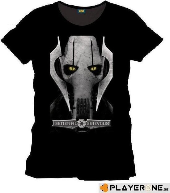 STAR WARS - T-Shirt GREVIOUS - Black (XXL)