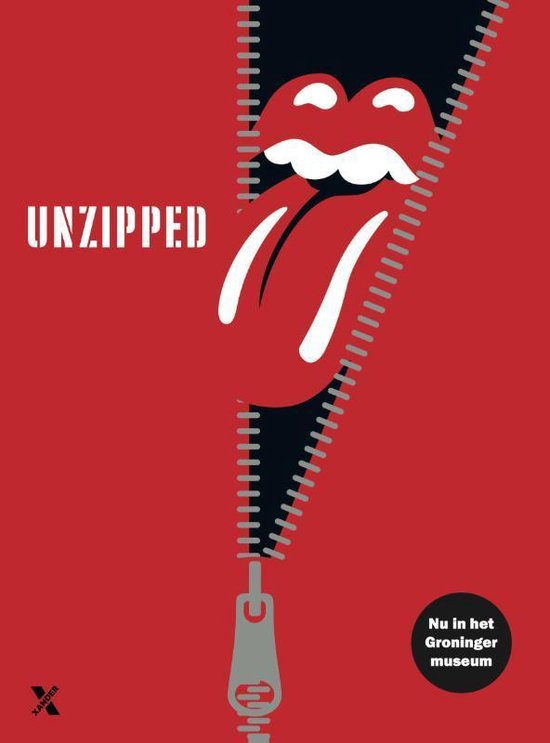 Boek cover The Rolling Stones: Unzipped van The Rolling Stones (Hardcover)
