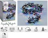 Gekleurde kerstlichtjes - microcluster - 8 meter - 400 LED-lampjes