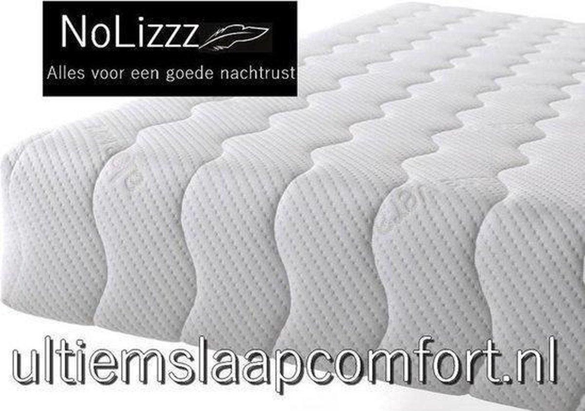 NoLizzz  2-Persoons Matras -POCKET LATEX 7 ZONE 23 CM    - fabrieksprijs! - 140x210/25