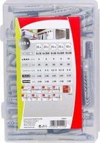Fischer Pluggenset DHZ box met UXR 6-8/UX 6-8-10 pluggen 518527
