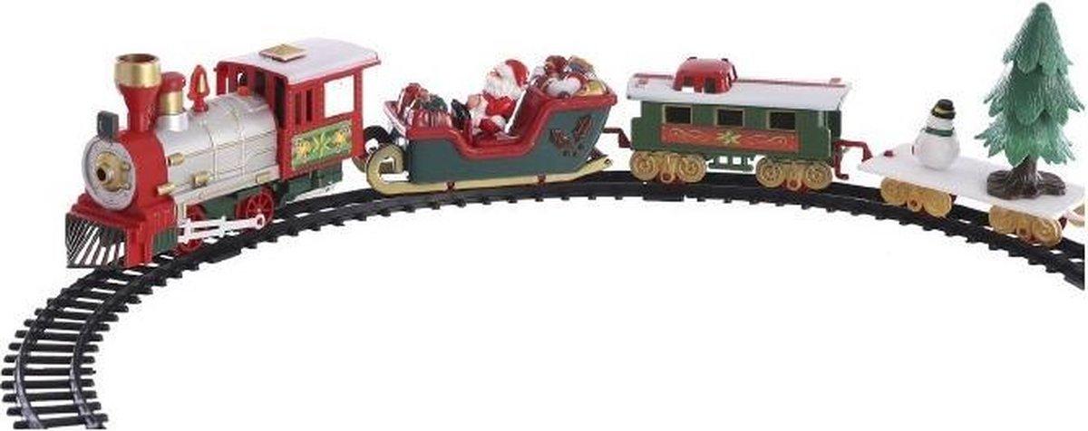 Tom Decoratietrein Kerst 91 X 8,5 Cm Groen 22-delig kopen