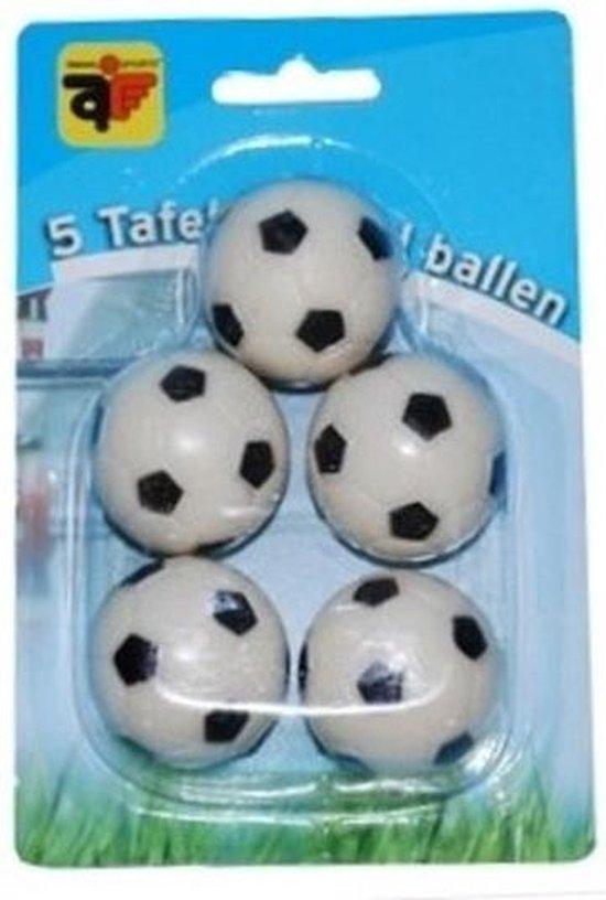 Thumbnail van een extra afbeelding van het spel 10x stuks tafelvoetbal ballen van 3 cm