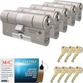 Cilinderslot M&C Matrix SKG*** (5 stuks)
