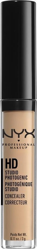 NYX Professional Makeup HD Photogenic Concealer Wand – Glow CW06 – Concealer – 3 gr