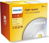 Philips - CD-R - CD-R 80 10pcs. Jewelcase