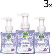 Dettol Handzeep Zachte Mousse Orchidee & Vanille - 3 x 250 ml - Grootverpakking