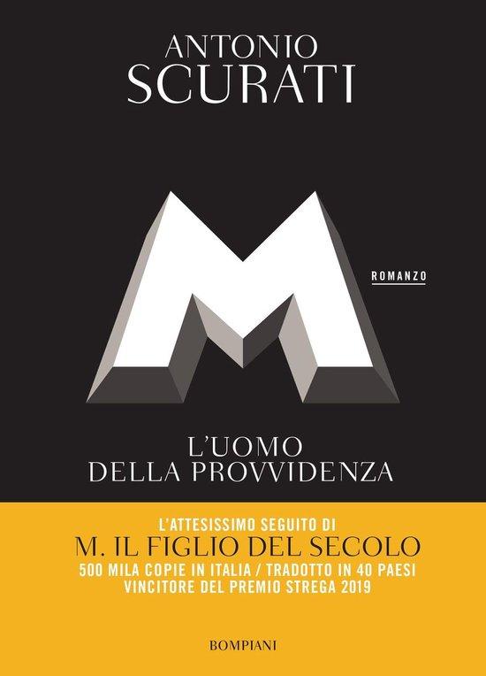 Boek cover M. Luomo della provvidenza van Antonio Scurati (Onbekend)