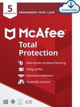 McAfee Total Protection - 12 maanden/5 apparaten -