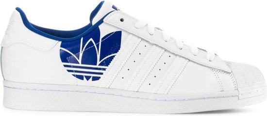 Adidas - Sportschoenen - Unisex - Superstar - white,blue