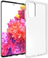 Accezz Clear Backcover Samsung Galaxy S20 FE hoesje - Transparant