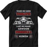 Formule 1 T-Shirt Heren – design Race shirt Dames – Perfect Max Verstappen tshirt Cadeau – Grappig Red Bul Racing shirt - Maat 3XL