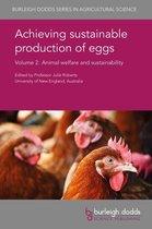 Boek cover Achieving sustainable production of eggs Volume 2 van Dr Y. Nys (Onbekend)