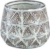 PTMD Pot S Jayda bruin 12x10x12 cm