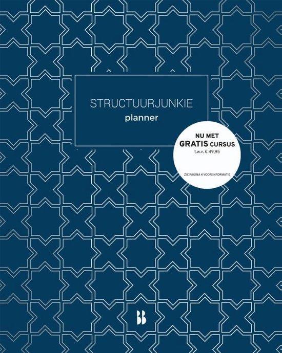 Afbeelding van Structuurjunkie - Structuurjunkie planner (klein)
