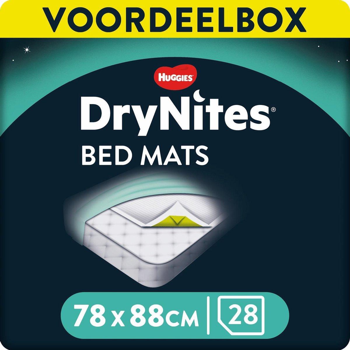 DryNites Matrasbeschermers - Extra Absorberend - 88 x 78 cm - 28 stuks