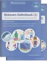 Delen 1 en 2  -   Rekenen Oefenboeken Compleet deel 1 en 2 groep 6