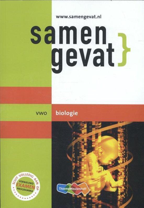 Boek cover Samengevat Vwo Biologie van E.J. van der Schoot (Paperback)
