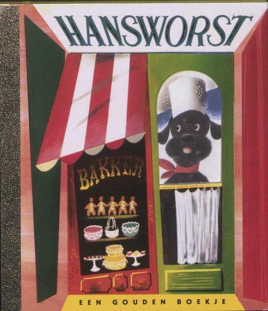 Boek cover Gouden Boekjes  -   Hans worst van Kathryn Jackson (Hardcover)