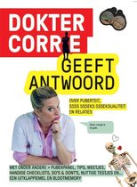 Boek cover Dokter Corrie geeft antwoord van Niki Padidar (Hardcover)