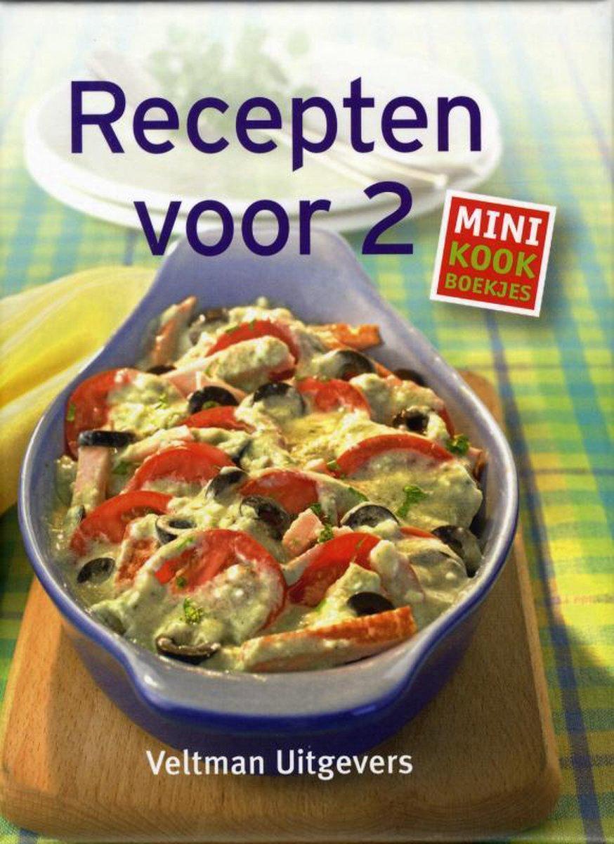 Mini kookboekjes  -   Recepten voor twee - TextCase