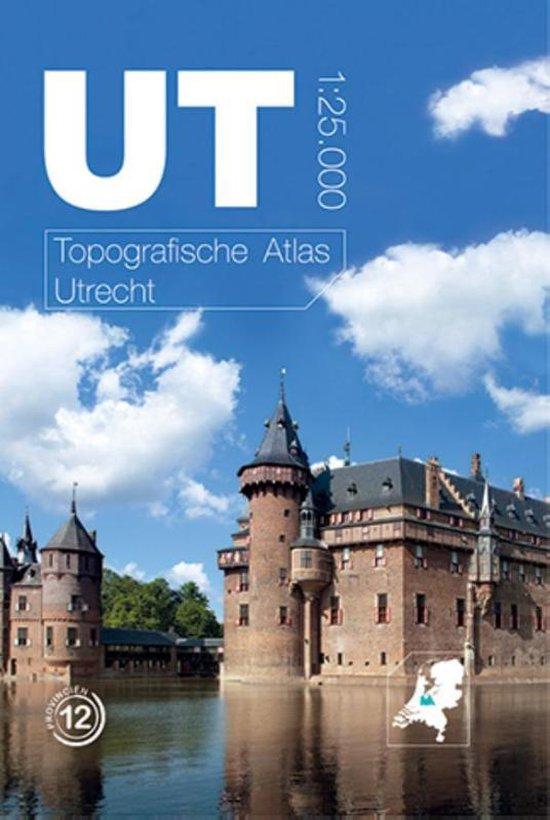 Afbeelding van Topografische provincie atlassen - Topografische Atlas Utrecht