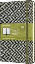 Moleskine Limited Edition-Notitieboek-Blend-19-Large-Gelineerd-Groen