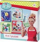 Juf Roos 4 in 1 puzzel
