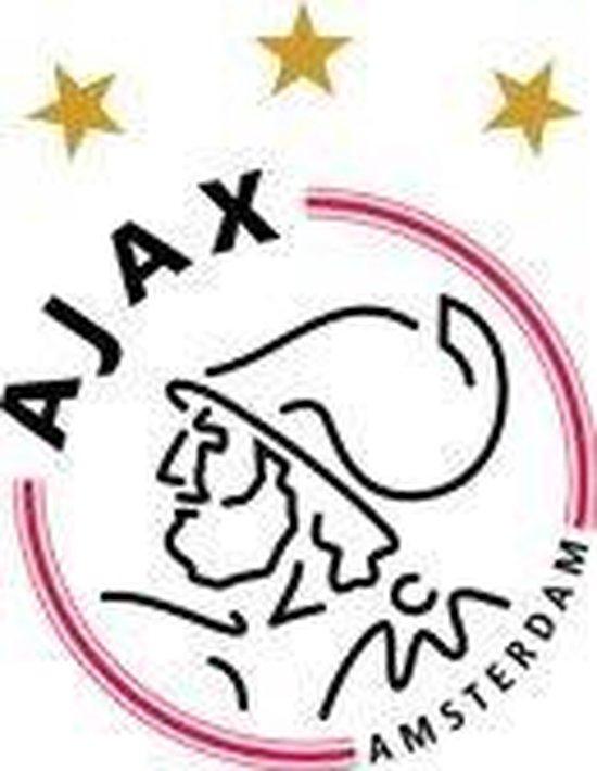 Ajax badjas coral fleece - blauw  - maat 128/134 - AFC Ajax
