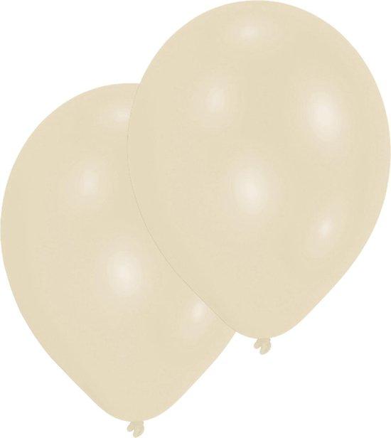 Amscan Ballonnen 27,5 Cm Vanilla Cream 10 Stuks