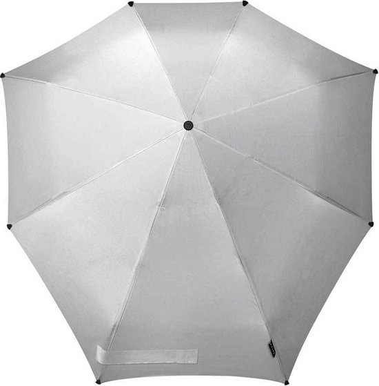 Senz° Automatic Stormparaplu - Opvouwbaar - Ø 91 cm - Shiny Silver - senz°