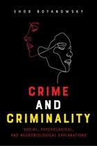 Omslag Crime and Criminality