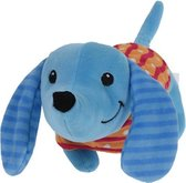 Tender Toys Knuffelteckel Junior 30 Cm Pluche Blauw