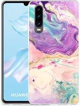 Huawei P30 Hoesje Dromerige Kleuren