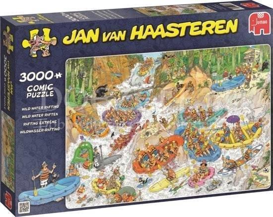 Jan van Haasteren Wild Water Raften 3000 st.