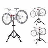   Sterke Fiets montagestandaard met gereedschapsbakje   360° Draaibare / Verstelbare reparatie standaard   Universele fietsstandaard   Lichtgewicht en eenvoudig draagbaar.