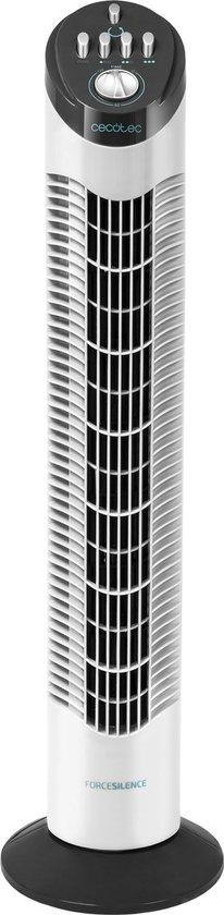 Afbeelding van Cecotec Stille torenventilator - Toren ventilator staand - Timer - Wit