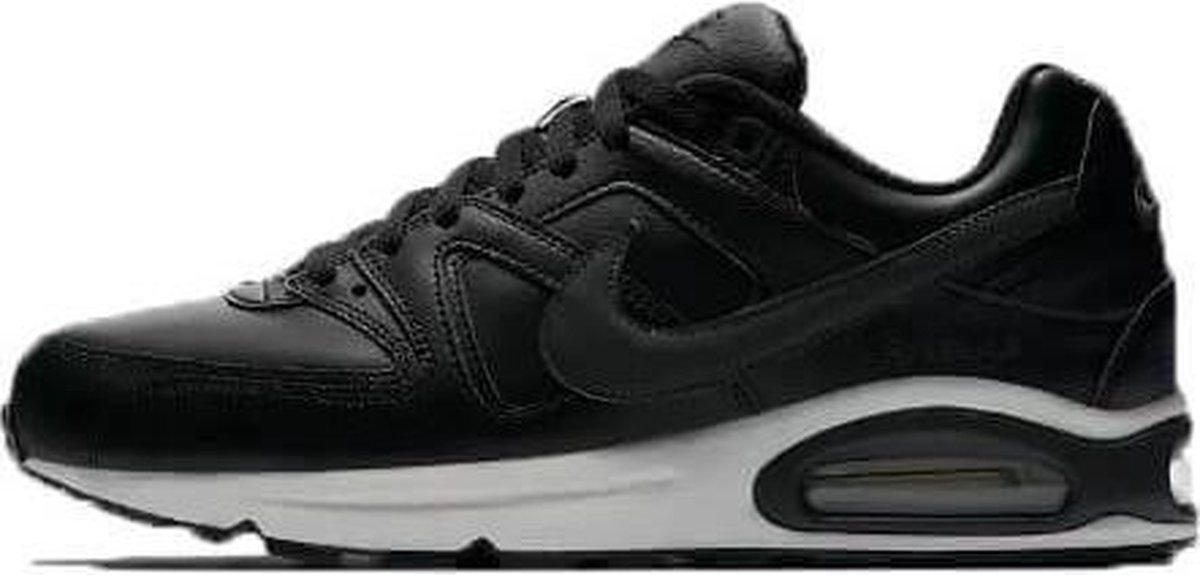 Nike Air Max Command Leather Heren Sneaker zwartantraciet maat 43