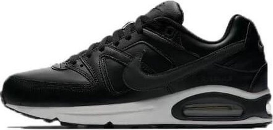 Nike Air Max Command Leather Heren Sneaker - zwart/antraciet - maat 43