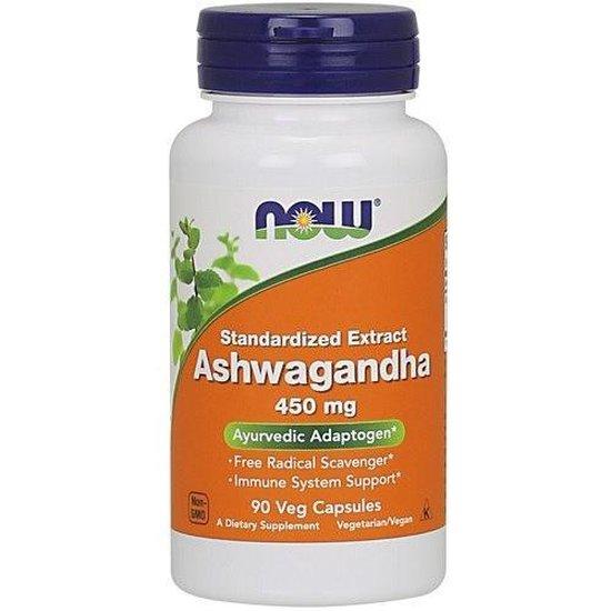 Ashwagandha 450 mg - 90 capsules - Now Foods