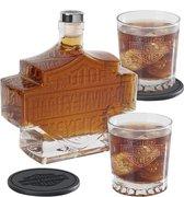 Harley-Davidson Bar & Shield Whiskey fles Set